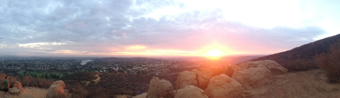 Cowles Mountain Sunset