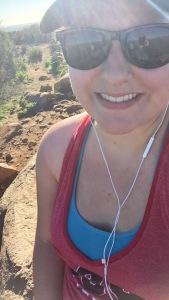 Becca Wallace Hiking
